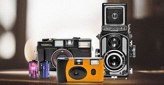 Film Camera Lending Library ~ MAG Photography Collective