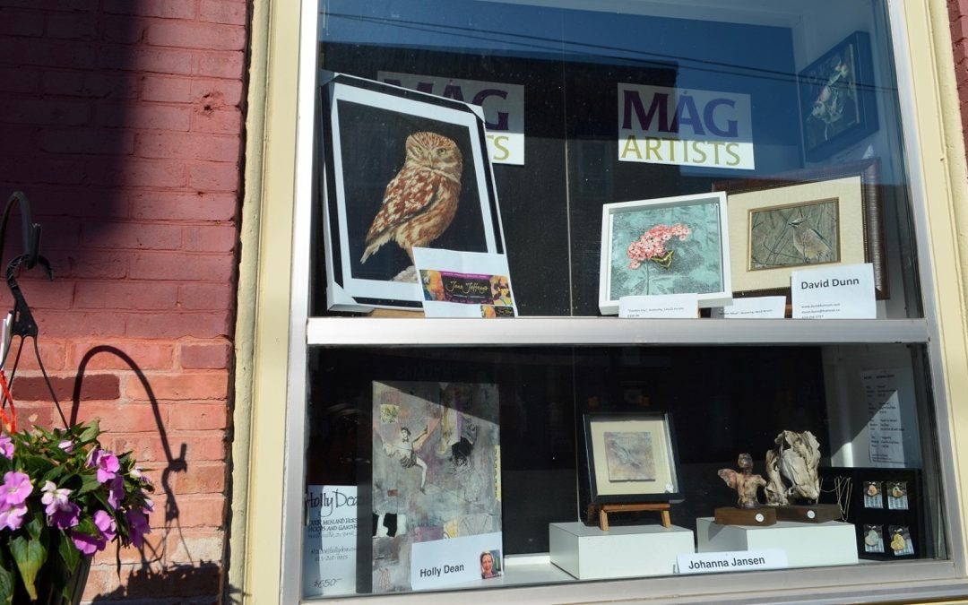 MAG Window Now Featuring ~ Jefferys, Dean, Jansen, Dunn ~ to July 19