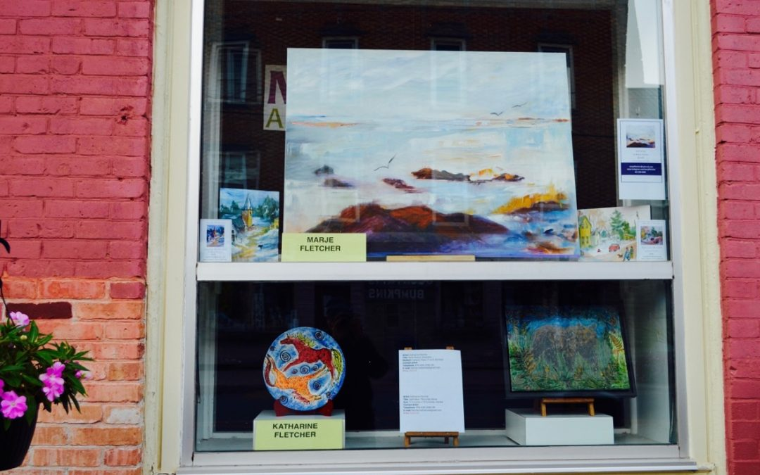 MAG Window Features ~ Marie Fletcher & Katharine Fletcher ~ Merrickville Food Market