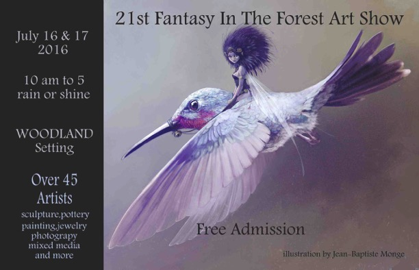 Fantasy in The Forest Art Show