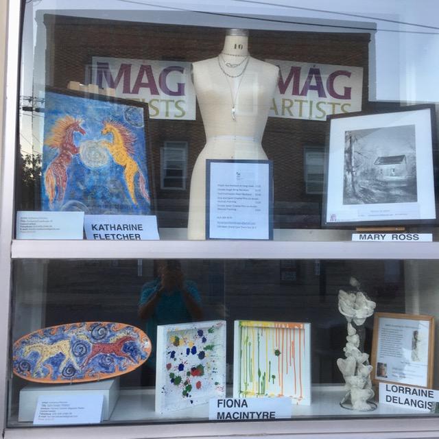 MAG Window Features ~ Ross, Macintyre, Fletcher, Delangis ~ to Aug 1 ~ Merrickville Food Market