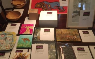 Collections Underway: MAG Artists' Donations for  Rideau Bridge to Canada