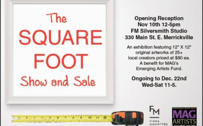 Square Foot Show & Sale: Fiona McIntyre Design: Nov 10-Dec 22