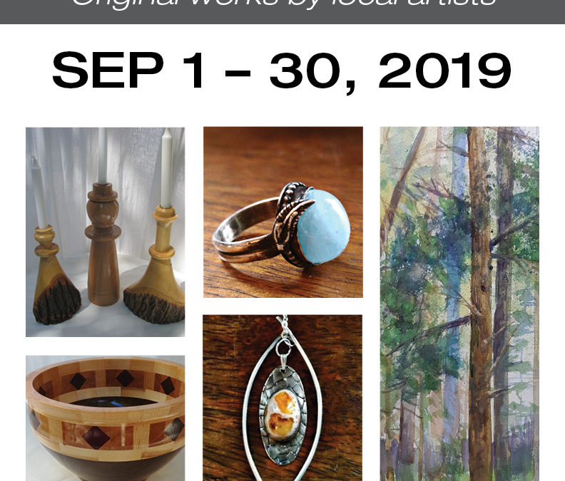 Pop-Up Gallery Sept 1-30
