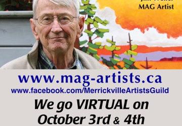 Online Studio Tour ~ Oct 3 & 4
