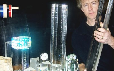 Glass Artist Vas Zastera Wows Audience at MAG Conversations